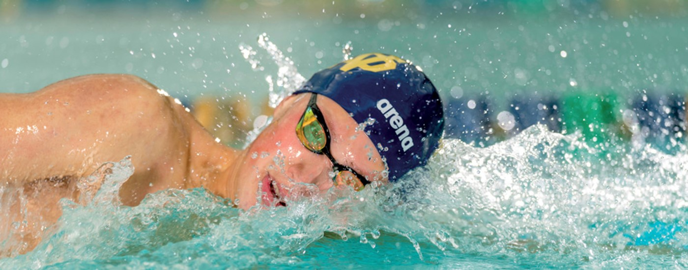 Header Olympics swimmer