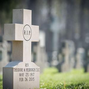 4.17.15 Hesburgh Headstone 1.JPG