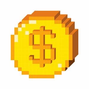 Thumbnail digital coin